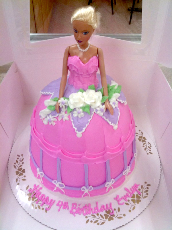 Doll Cake Princess Dress