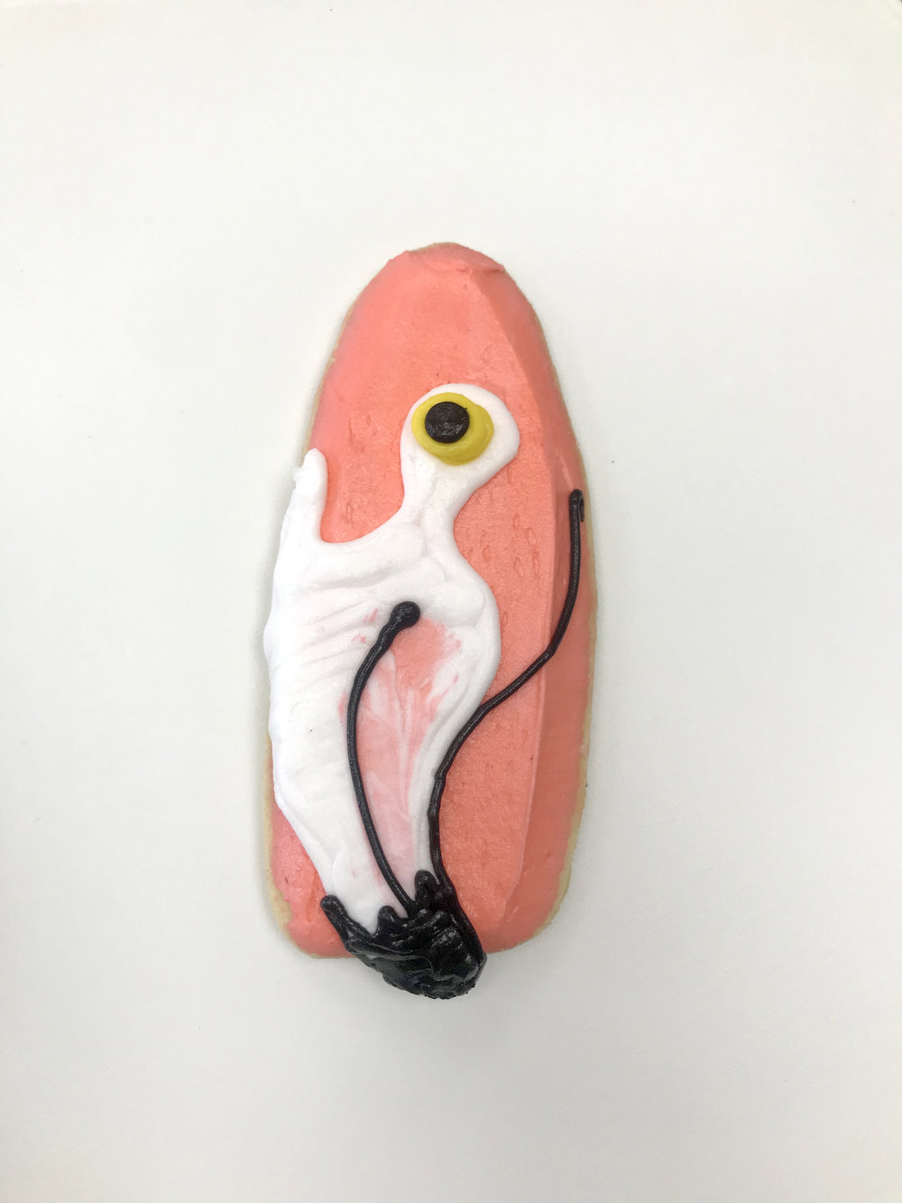 Flamingo Cutout Cookie