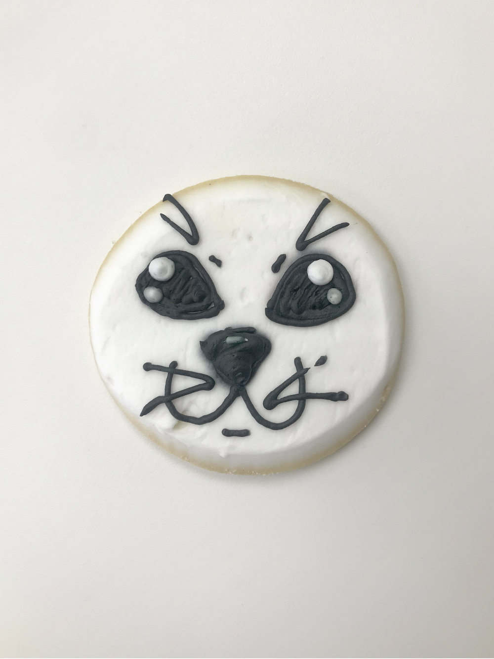 Seal Cutout Cookie