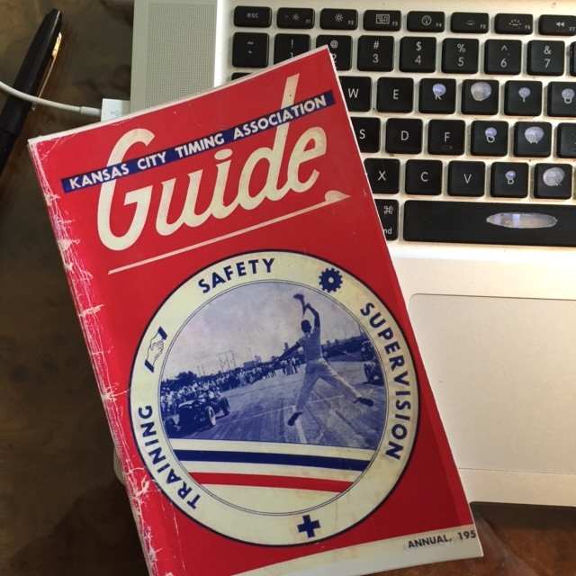 This KCTA Guide is a replica, like my Ford. Supplied by Chris Simmons.
