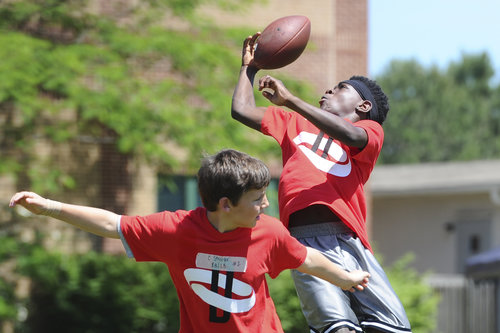 Elite Football Training Program - Sign up today for exclusive skill training for Wide Receivers & Defensive Backs with former Professional Coach Nate Daniels.