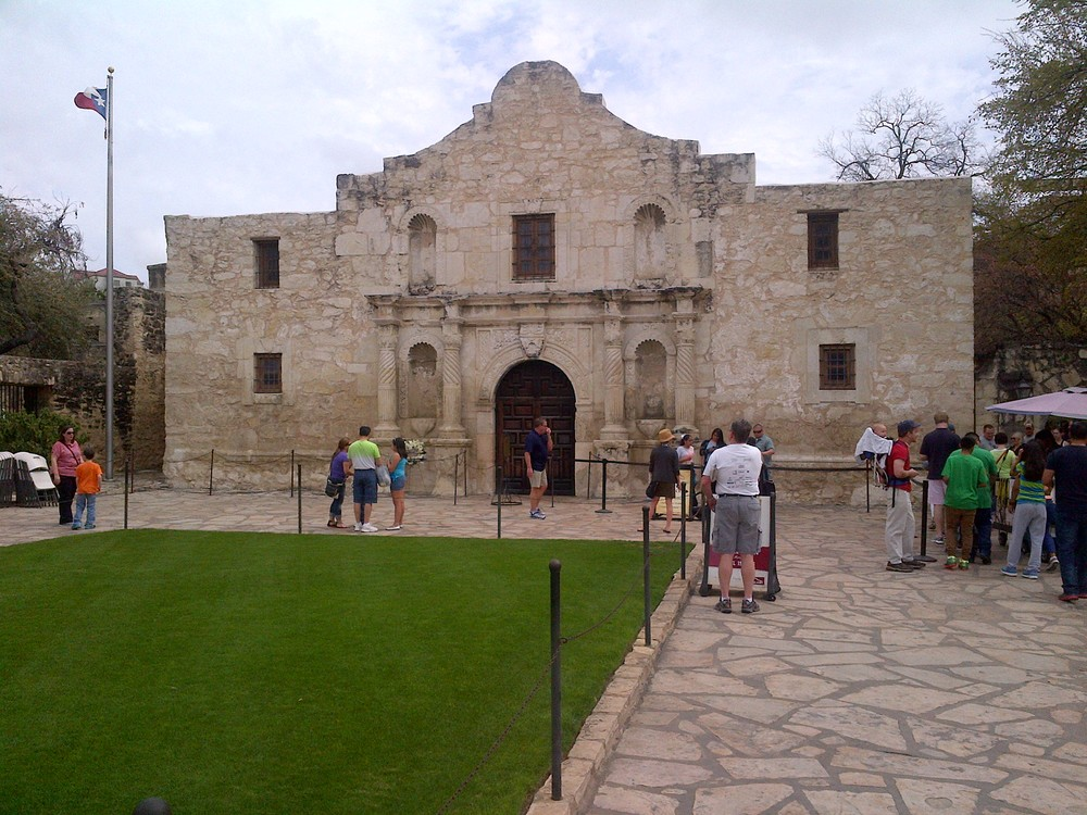 When you're in San Antonio you can't forget to check out the Alamo!