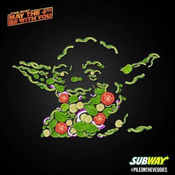 Image tweeted by @SUBWAY