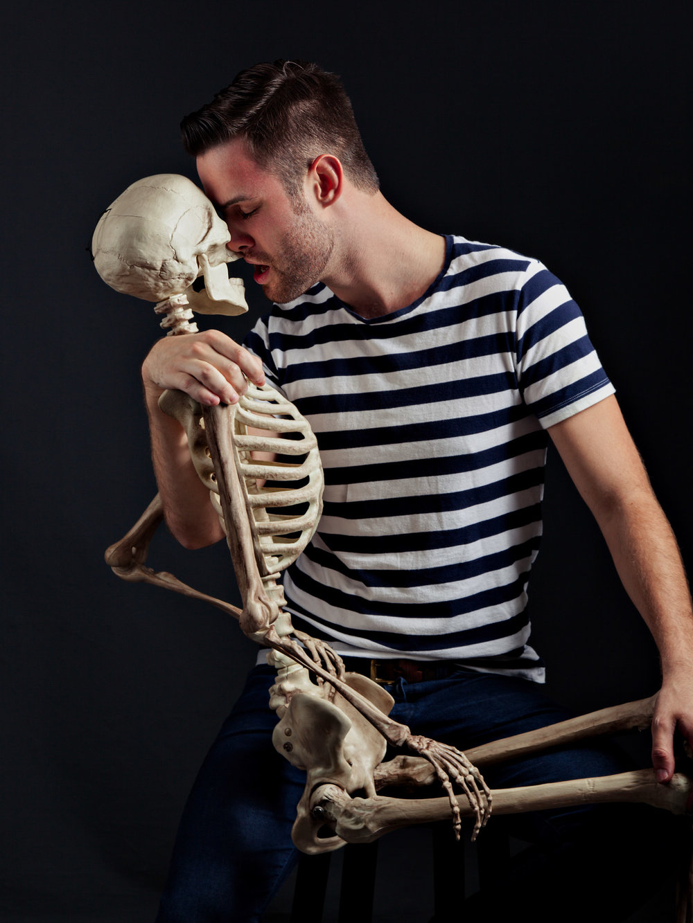 Paul w Skeleton.jpg