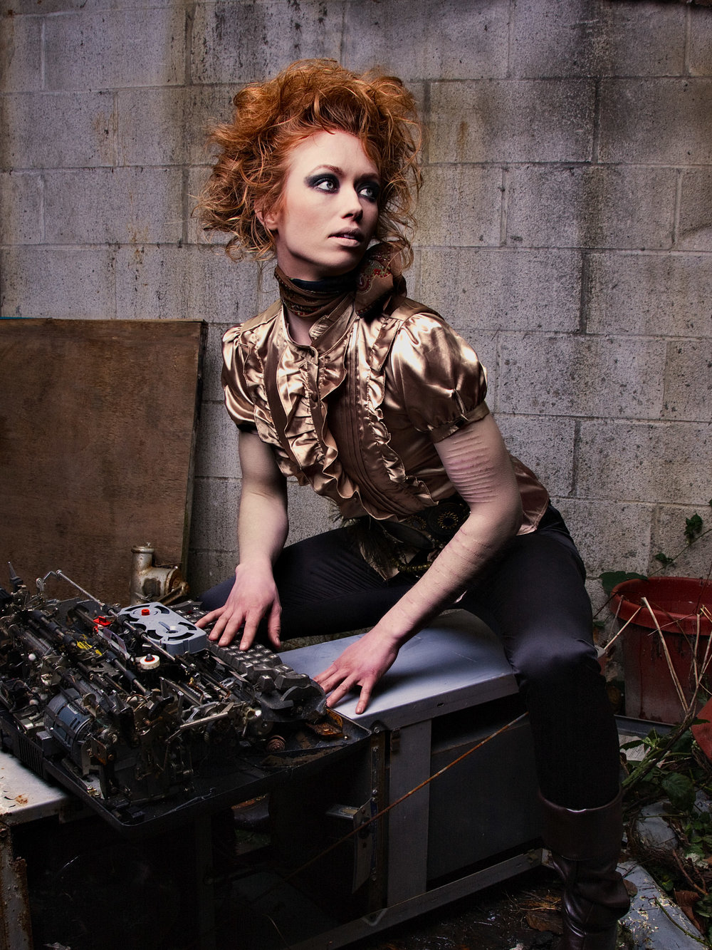 Anne w Typewriter.jpg