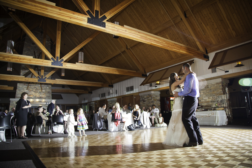 first dance at elm creek chalet