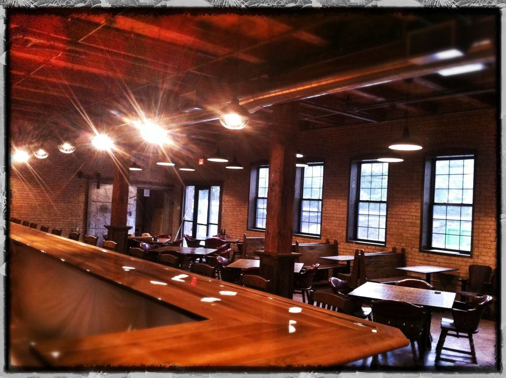 Indeed Brewery offers a  more traditional taproom with exposed brick, wooden booths and a polished bar.