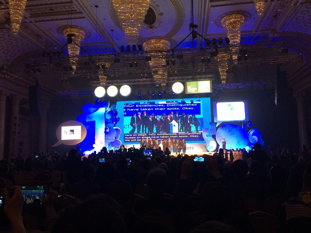 The ITU opening ceremonies!
