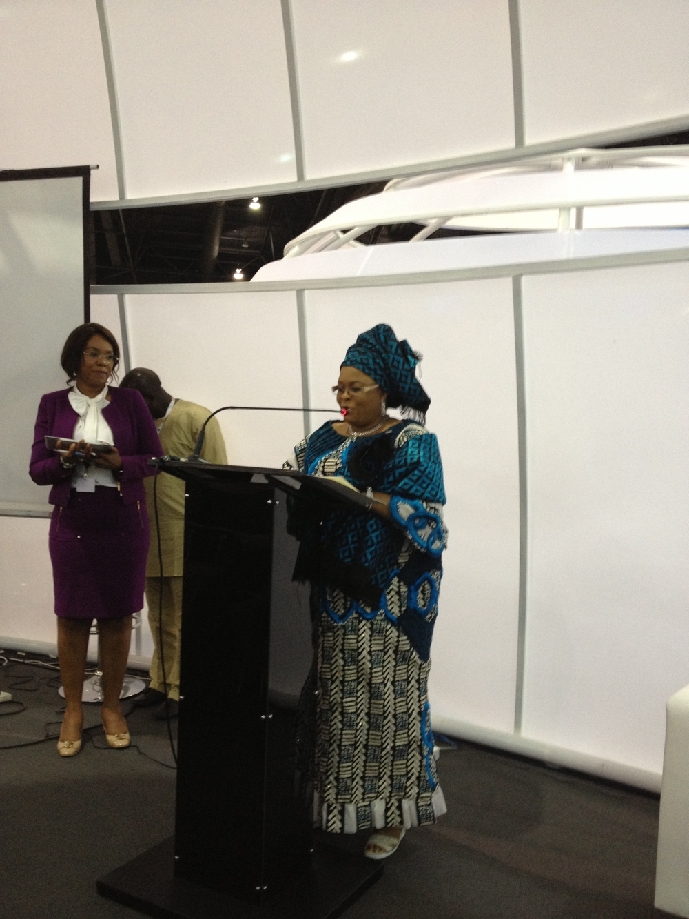 Session with the First Lady of Nigeria