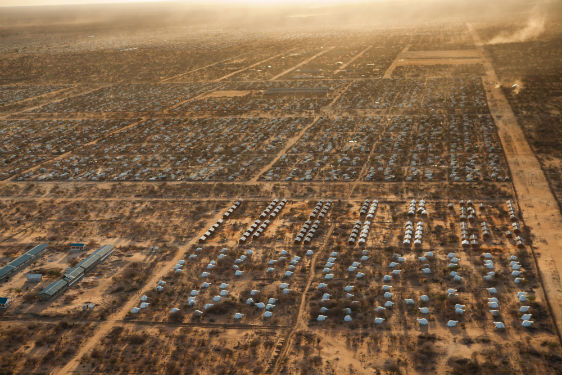 Rescue.org's view of the Dadaab Refugee Camp from above