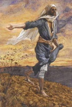 The Sower  by James Tissot