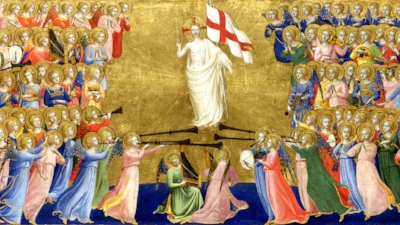 Christ Glorified in Heaven,  by Fra Angelico