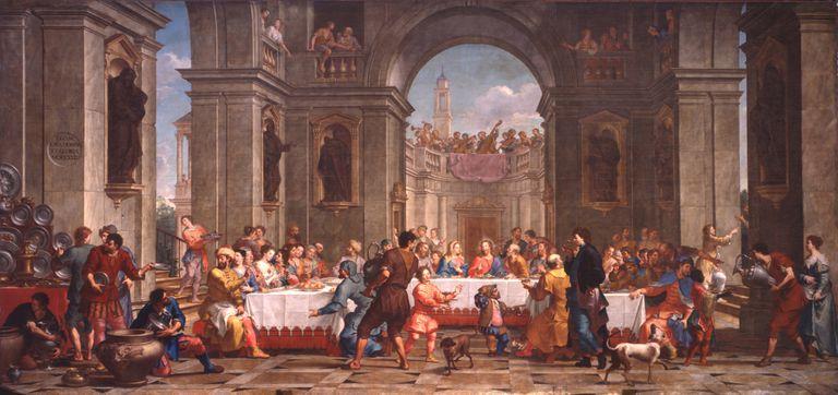 Bartolo Litterini,  The Wedding at Cana