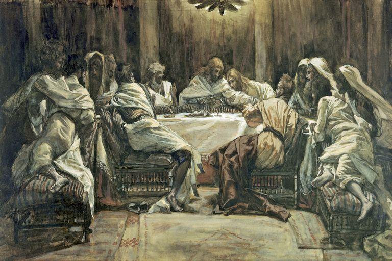 James Tissot,  The Last Supper