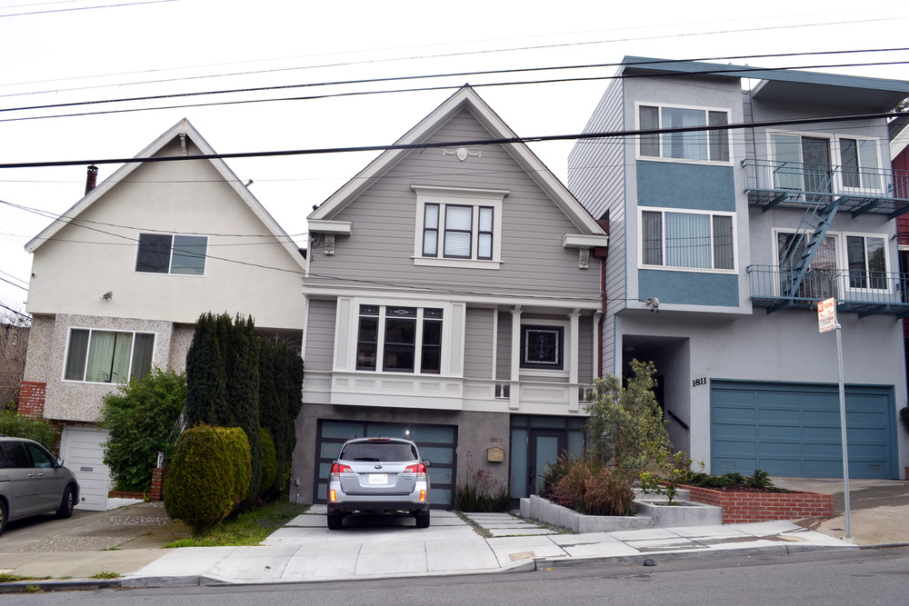 Noe Valley, San Francisco  1st and 2nd - $1.4M - Construction Completion - Property Sold for Over $2.1M