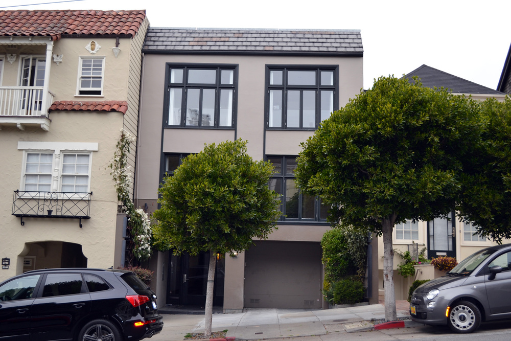 Cow Hollow, San Francisco  $300,000 2nd bridge loan on triplex while property was listed for sale.