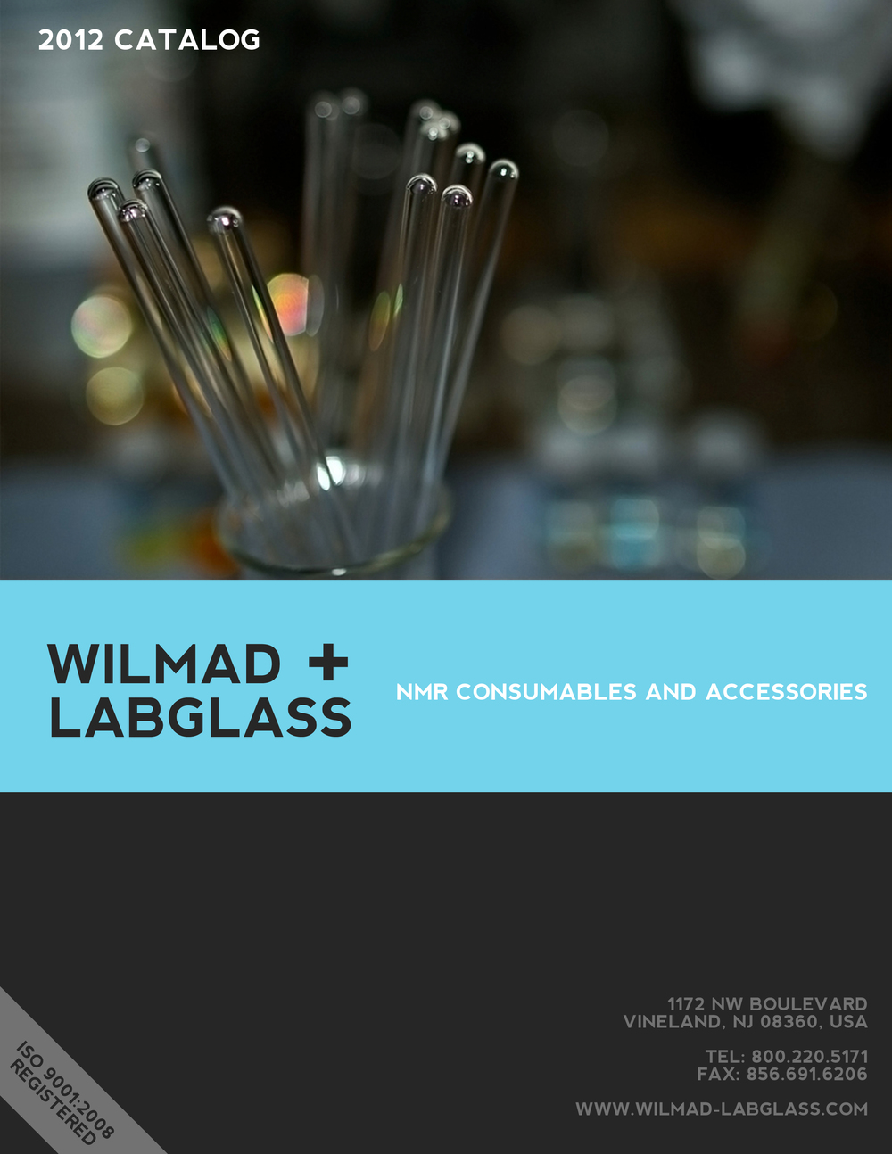 Brochure Cover: Wilmad-LabGlass