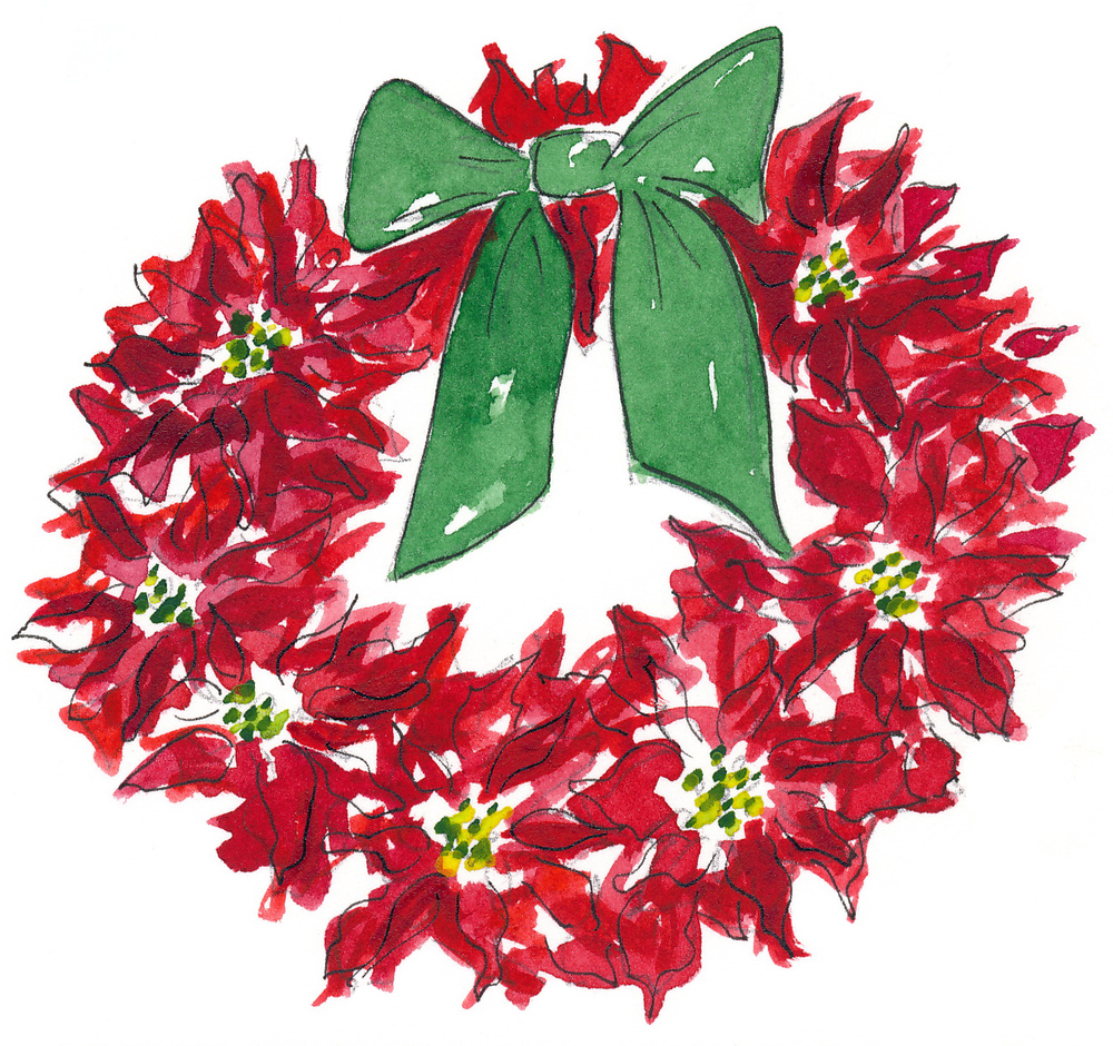 drawingsarah-wreath5