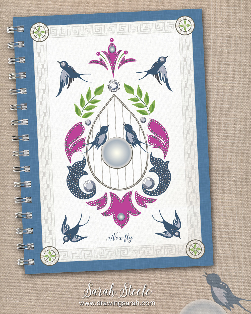 drawingsarah.com | MATS journal design