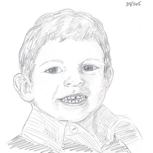 My son, Eli.