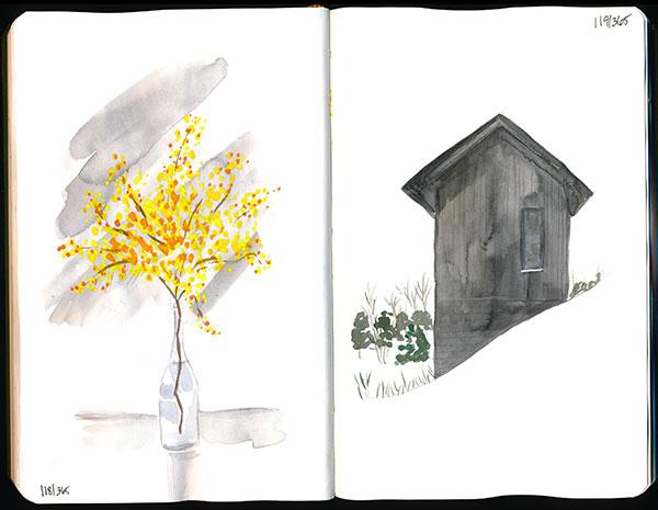 drawingsarah.com | 118/365 & 119/365
