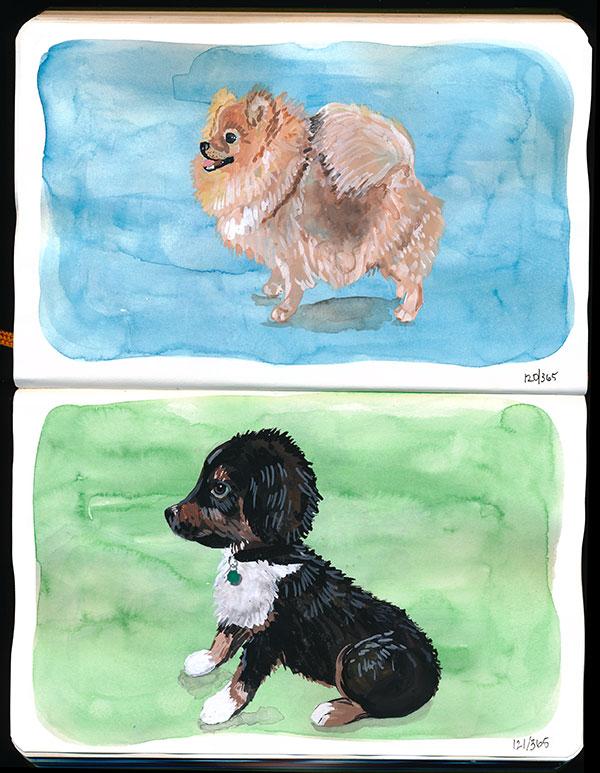 drawingsarah.com | 120/365 & 121/365