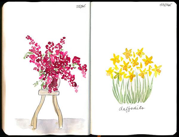 drawingsarah.com | 122/365 & 123/365