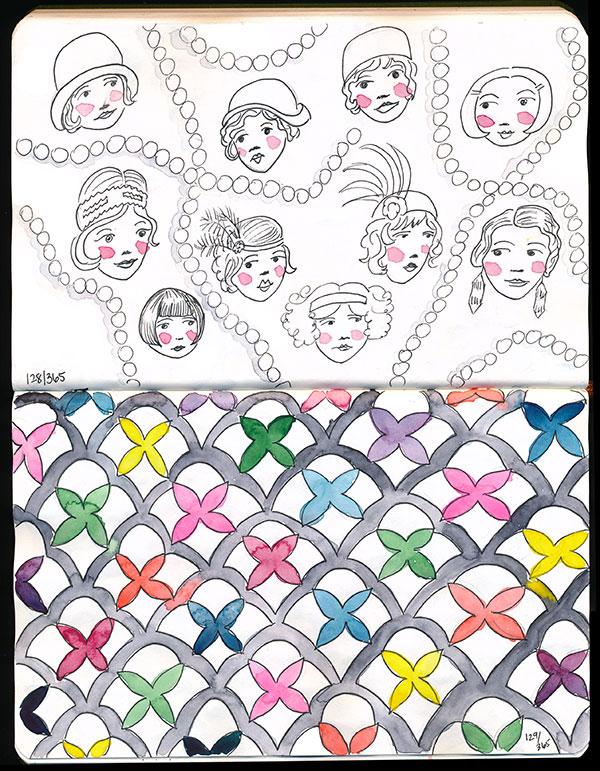 drawingsarah.com | 128/365 & 129/365