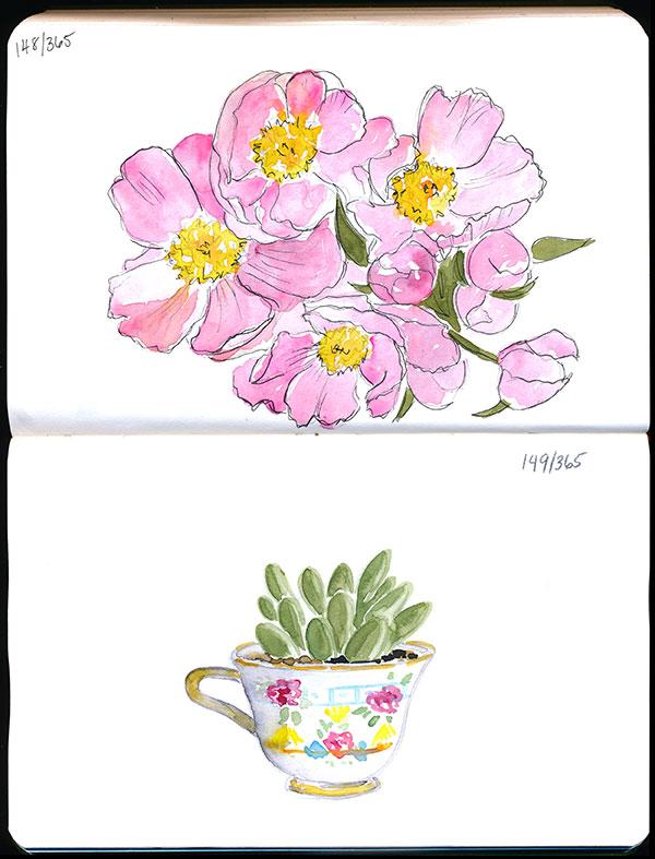 drawingsarah.com | 148/365 & 149/365
