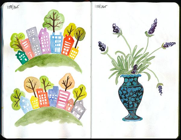 drawingsarah.com | 181/365 & 182/365