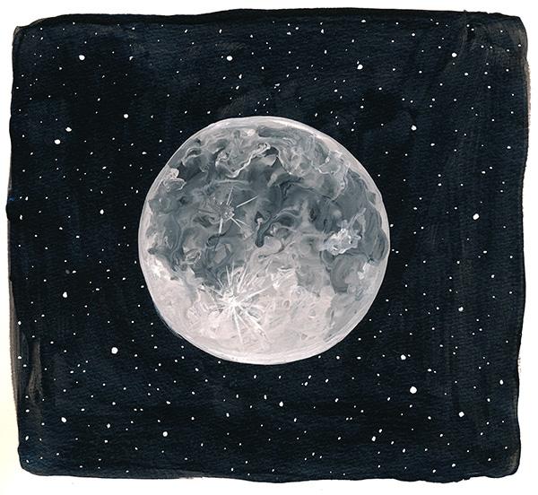 223/365 - Moon & Stars