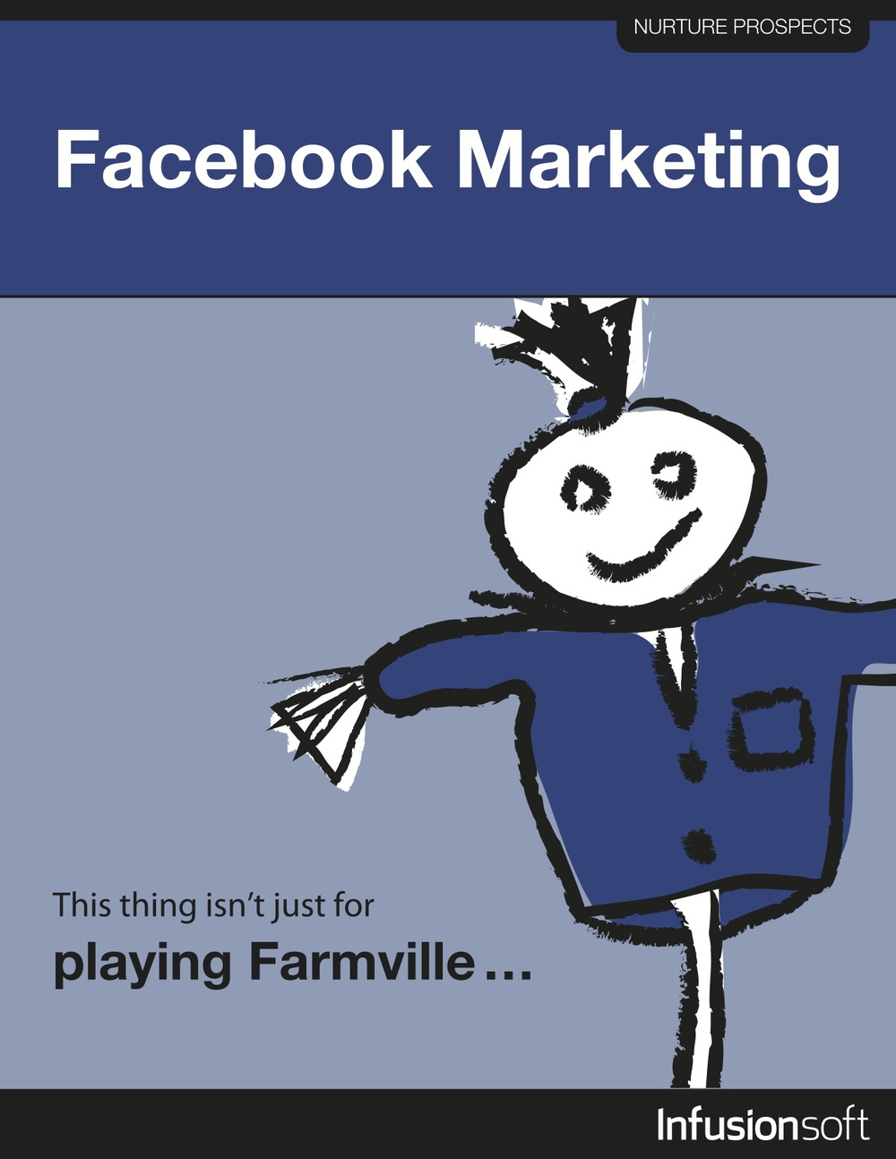 What You'll Learn:    This growth strategy is an overview that will set the stage for big advances with Facebook marketing. You'll learn:    	  		Why Facebook might be way more powerful than Twitter  	  		How to set up a business page  	  		How to optimize your Facebook landing page  	  		Much more!       Excerpt:   There are 500 million users on Facebook, and according  to insidefacebook.com, over half of those users are between the ages of  26 and 54. That's a pretty big sweet spot for marketing...     Download Now      Sourced From:  Infusionsoft