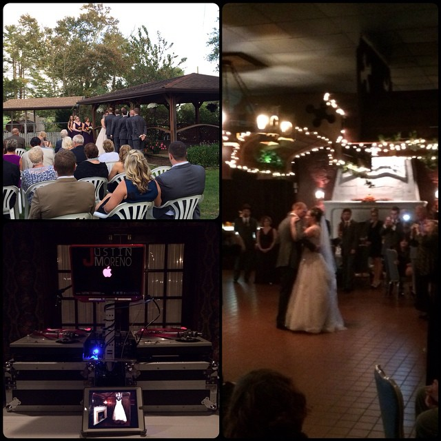 Yesterday's wedding at Renault Winery.. Congrats to Kyle and Cat! #mycsevent