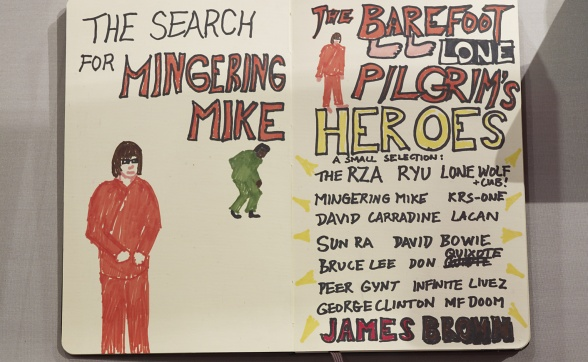David Blandy, The Way of the Barefoot Lone Pilgrim - The Search for Mingering Mike, 2008