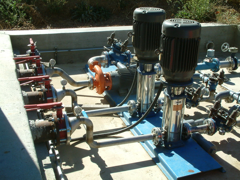 ultizone, high pressure irrigation pump system.