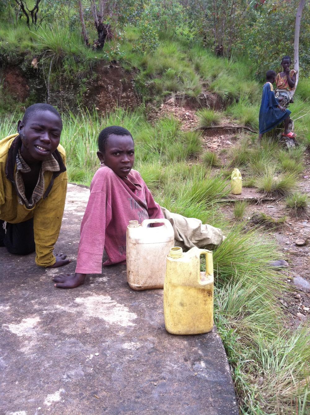 """The """"Water Carriers"""" Mugonero, Rwanda"""