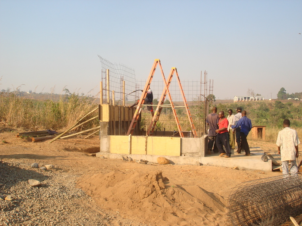 Pump Station Construction for Malamulo Hospital, Thyolo, Malawi