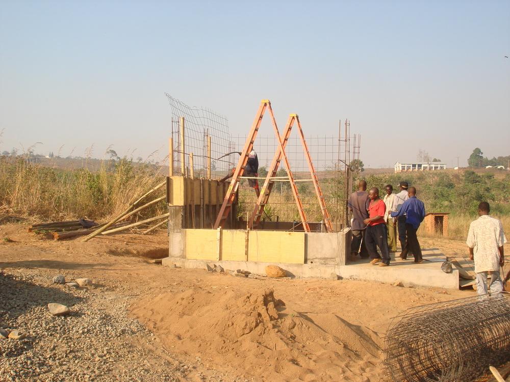 Pump Station Construction for Malamulo Hospital, Thyolo, Malawi