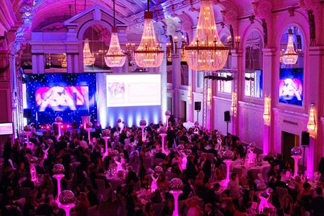 The C&IT award ceremony was held at the Grand Connaught Rooms, Covent Garden.
