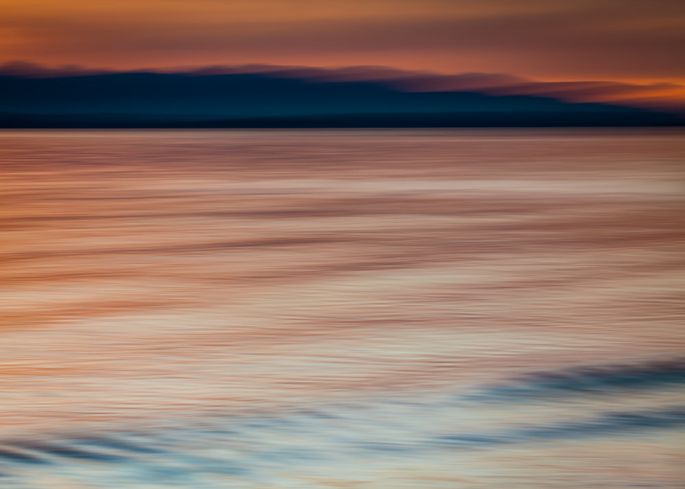 Sundown on Puget Sound