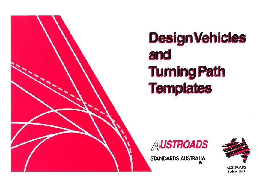 Vehicle swept path templates image collections template for Design vehicles and turning path template guide