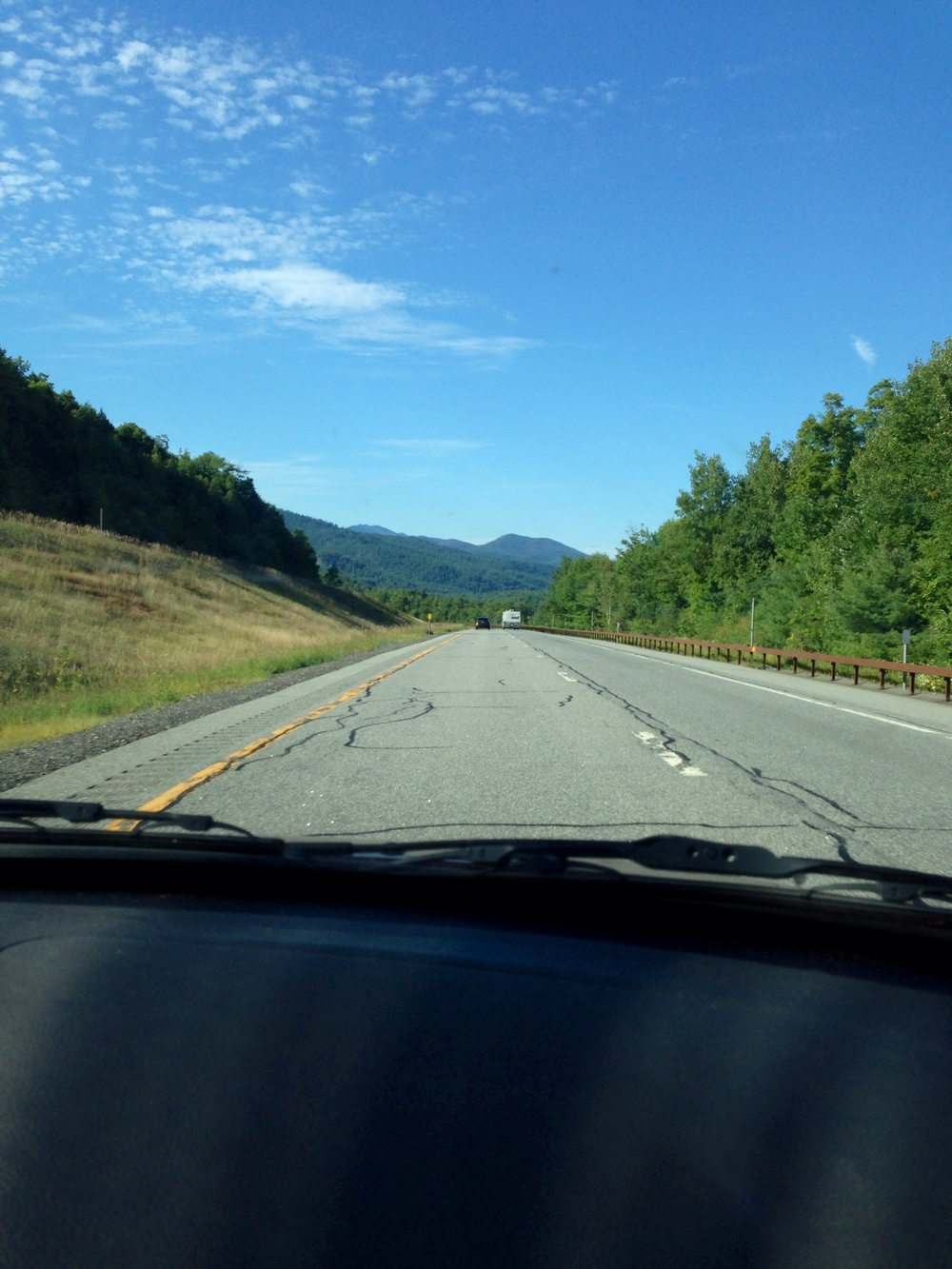 On the road to Montréal-Catskills New York