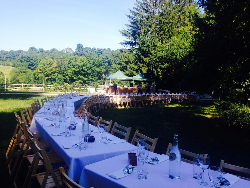 Dinner in Boston at Allandale Farm, Boston's last working farm!