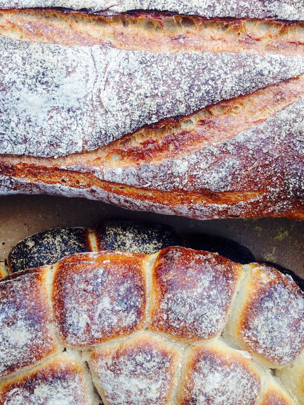 Gorgeous handmade bread in Boston, Massachusetts