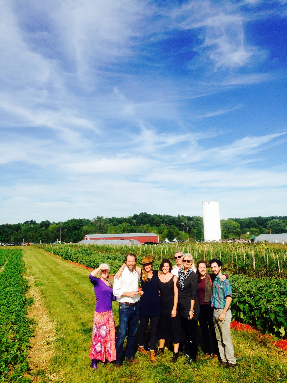My extended family at Blooming Glen Farm in Perkaise Pennsylvania
