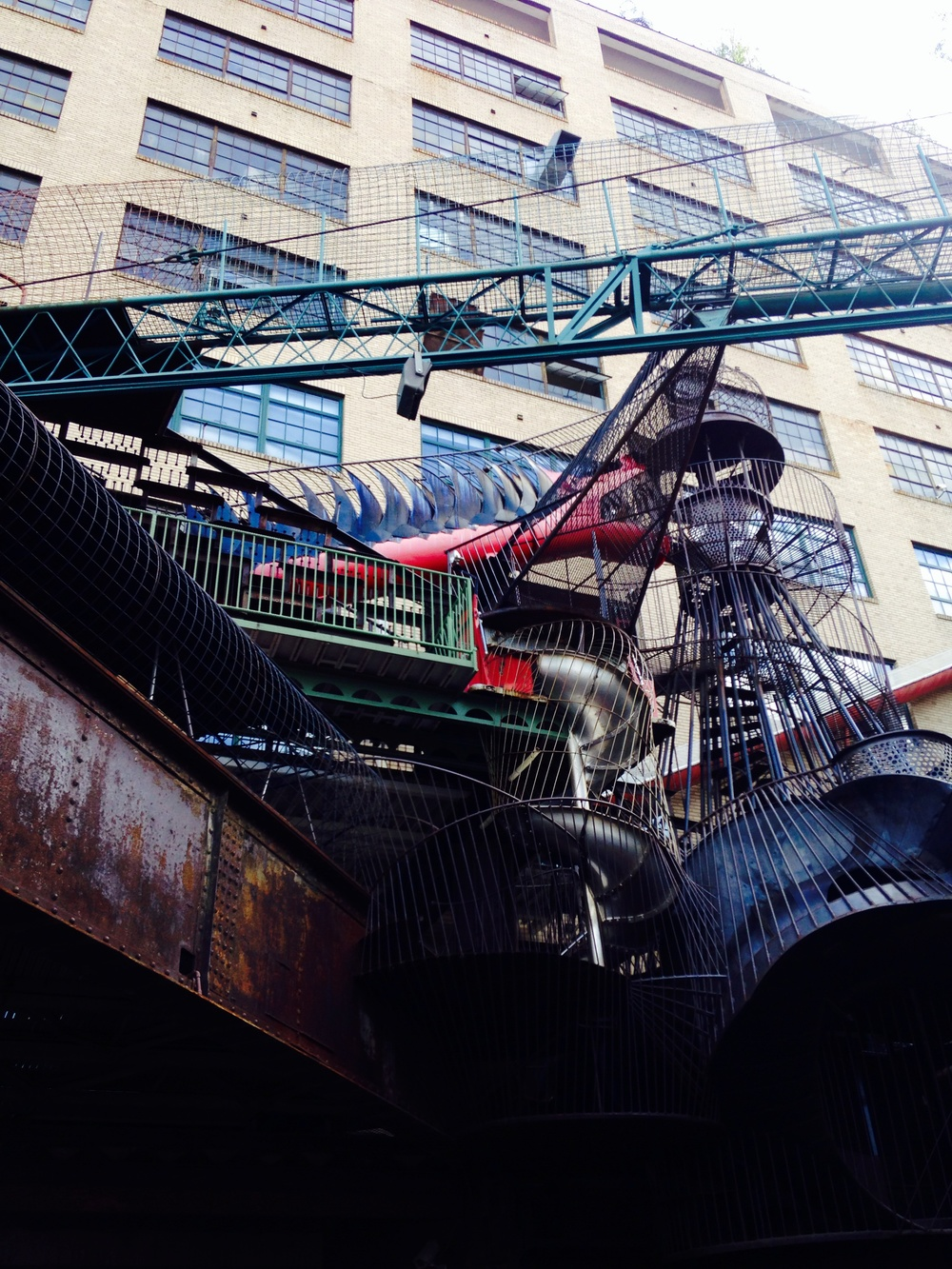 The incredible CIty Museum in St. Louis Missouri