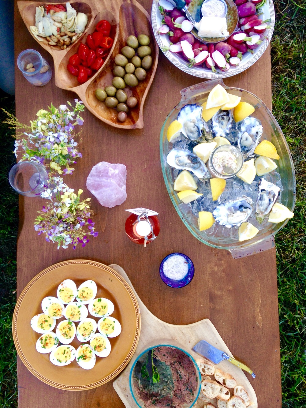 The Spread at Emily's Birthday Bash