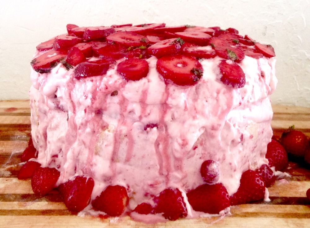 Emily's Strawberry Cream Cake