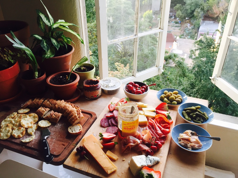 Meat & Cheese Spread in Oakland, California