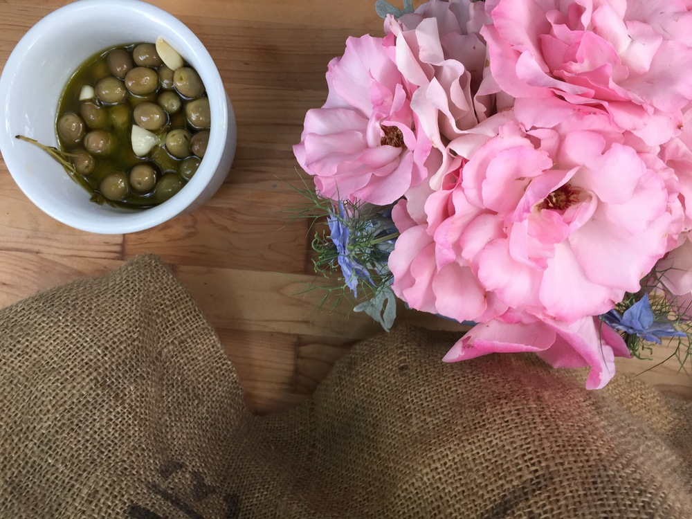 Olives and Roses from Preston Vineyards